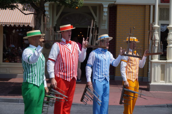 The Dapper Dans are going to return to the Magic Kingdom!