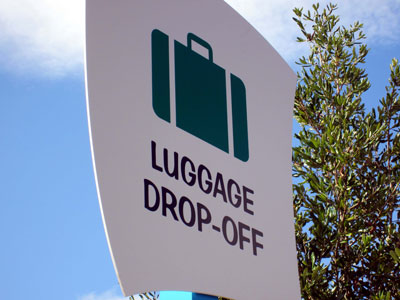 Disney will move your luggage for you.