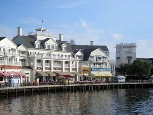 The Boardwalk has one of the longest jogging paths in Disney World.