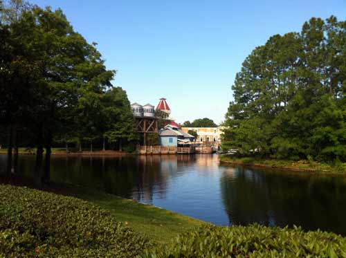 Port Orleans is a beautiful place to run!
