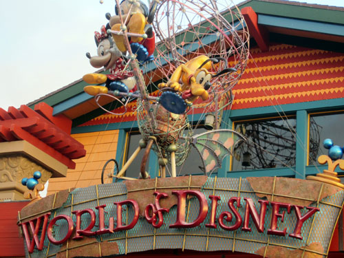 World of Disney is a fan's one-stop souvenir shop.