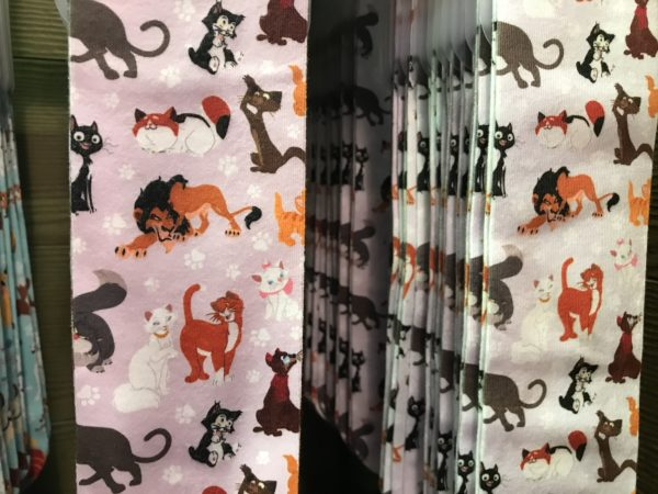 Don't forget the cat lovers! Scar is front and center on the Disney cat design.