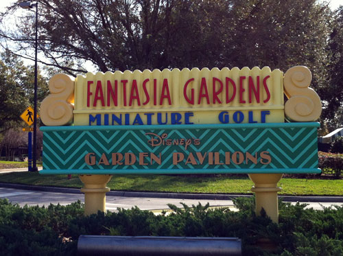 Plenty of fun with mini golf.