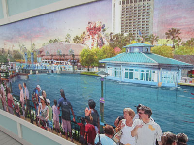 Disney Springs Concept Art - great water views.