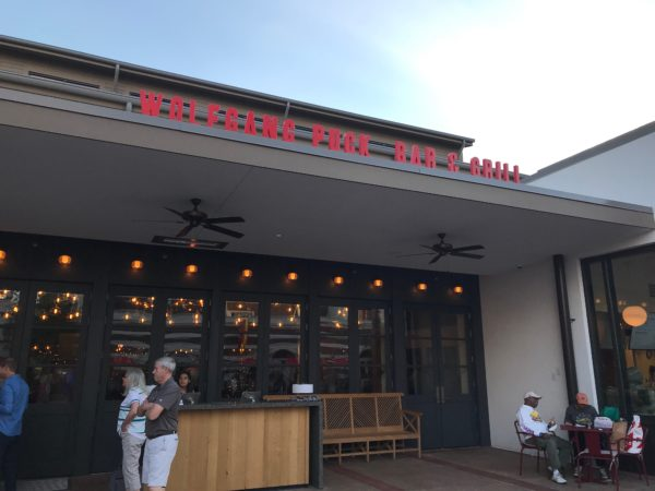 Wolfgang Puck Bar and Grill will open on May 20.