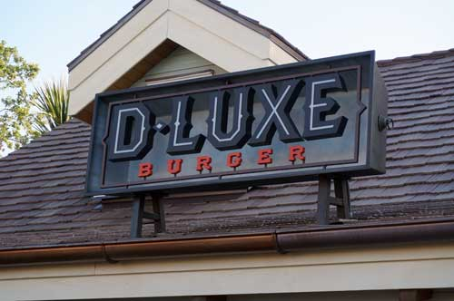 D-Luxe Burger plays a central role in the Disney Springs backstory.