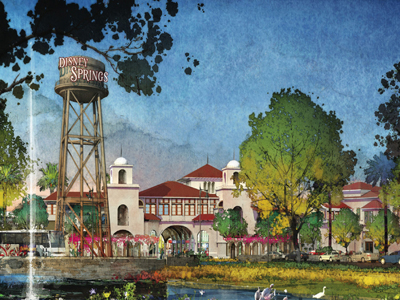 Disney Springs entry will feature a landmark water tour. Photo credits (C) Disney Enterprises, Inc. All Rights Reserved