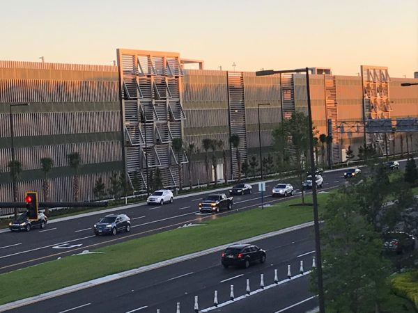 Disney Springs will only reopen two garages initially.