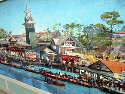 Disney Springs reflects the style of old-time Florida.