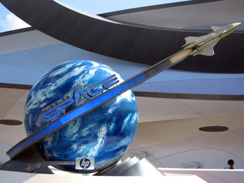 Take a field trip to space in Mission: Space.