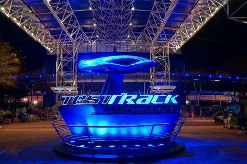 Test Track and Mission: Space are fun thrill rides in Epcot.