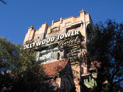 The Tower of Terror drops you into the Twilight Zone.