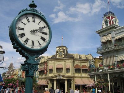 Many Disney tours include the Magic Kingdom's Main Street USA.
