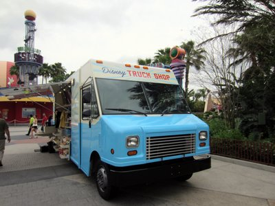 The truck made its home in the West Side of Disney Springs.