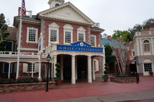 Walt wanted a tribute to US Presidents even before the technology to make it possible existed.