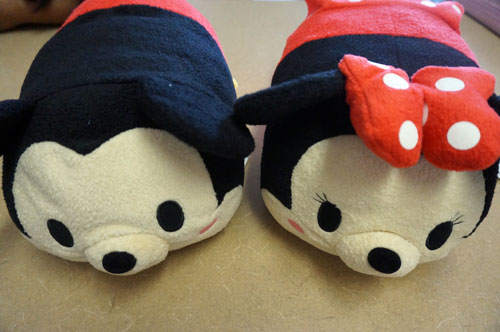 You can win these Mickey and Minnie Tsum Tsums!