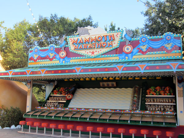 Walt wasn't a fan of carnival games, like this one at Disney's Animal Kingdom.