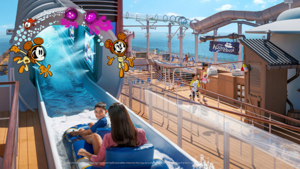 The AquaMouse will combine a Disney attraction and a water ride in one.  Photo credits (C) Disney Enterprises, Inc. All Rights Reserved