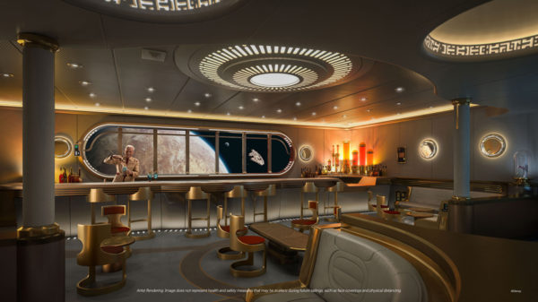 Adults can drink in a galaxy far, far away at the Star Wars: Hyperspace Lounge.  Photo credits (C) Disney Enterprises, Inc. All Rights Reserved
