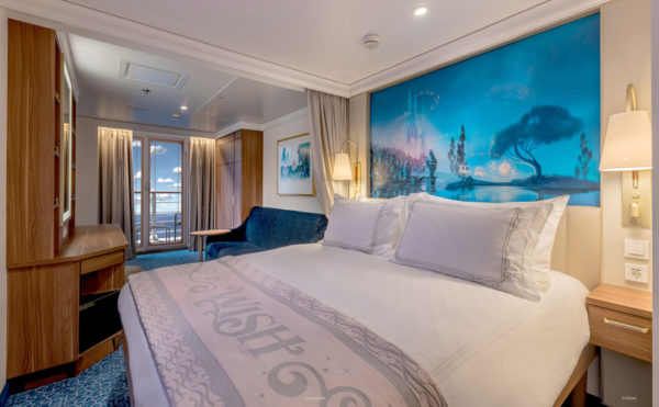 Staterooms will be inspired by Disney stories.  Photo credits (C) Disney Enterprises, Inc. All Rights Reserved