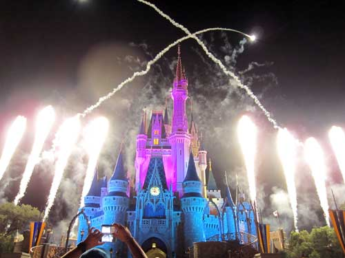 You can experience the fun of Wishes without going into the Magic Kingdom.