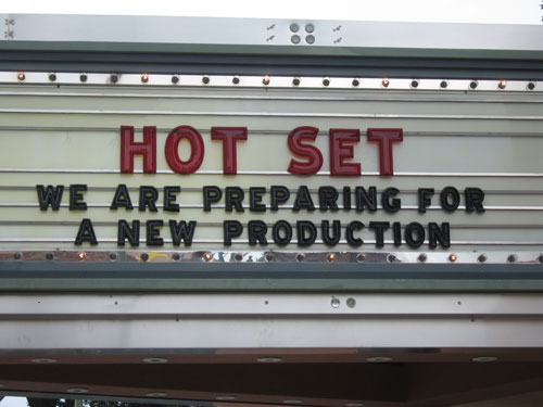 The idea of actual movie production was exciting.