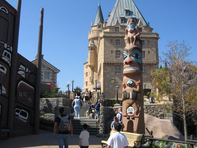There are a surprising number of totem poles throughout Disney World.