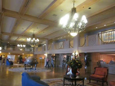 Disney Yacht Club Lobby