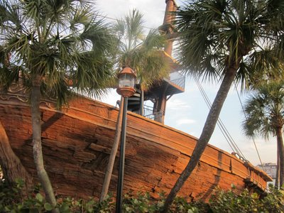 Stormalong Bay Ship at Disney's Yacht Club
