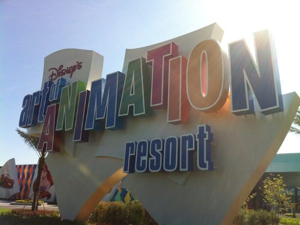 The Art of Animation Resort is strewn with beloved Disney characters!