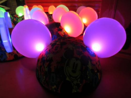 Although you can change the batteries in many of the glow items, you'll have to decide if they're really practical after your Disney vacation.