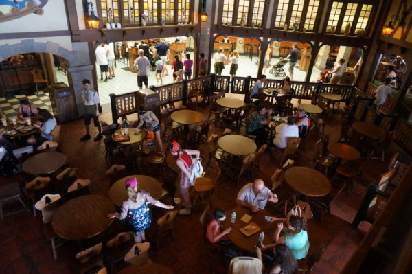 Disney World restaurants offer an amazing variety of themed environments and food.