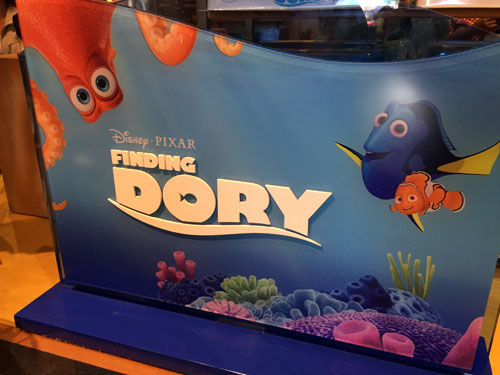Disney offers plenty of Finding Dory souvenirs around the parks.