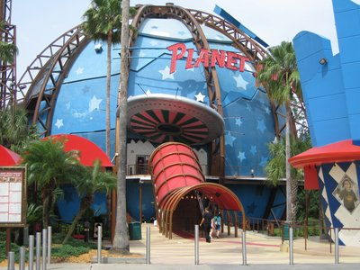 Planet Hollywood is popular for all its move and television memorabilia.