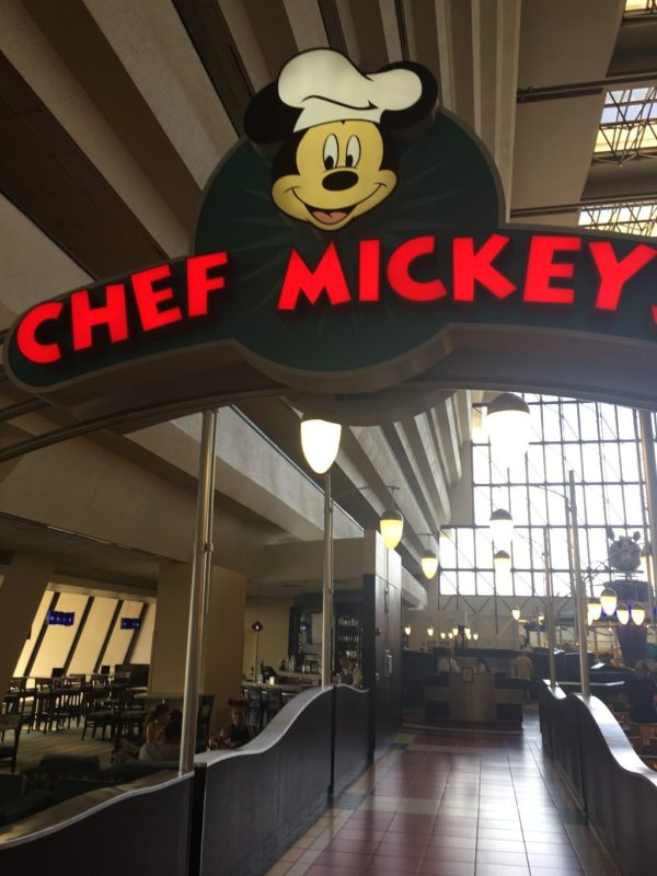 Chef Mickey's used to be The Pueblo Room. Prices have gone up here as well!