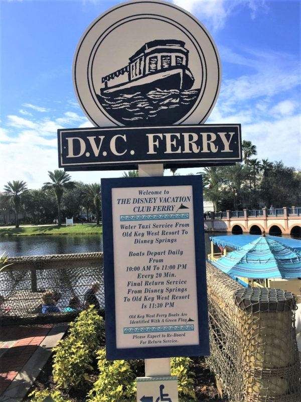 Old Key West is one of two resorts that offer water transportation to Disney Springs.