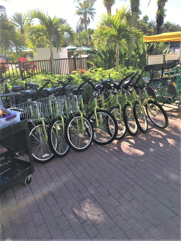 Old Key West has plenty of recreation opportunities including bike rentals.