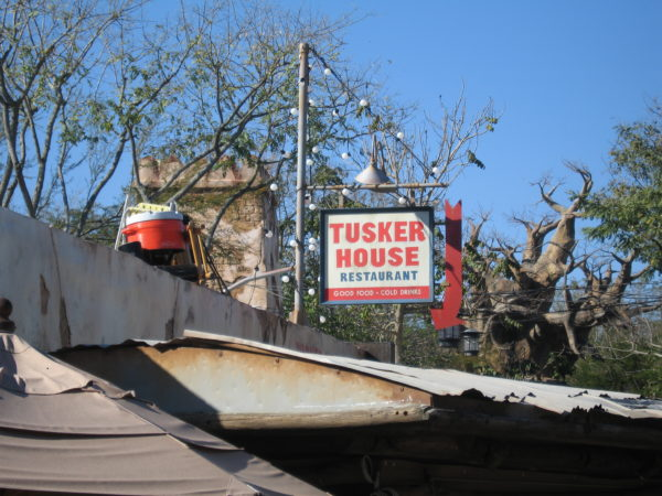Tusker House restaurant has a good Safari Dining experience with Donald Duck and friends!
