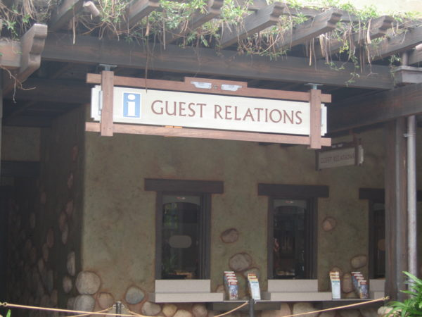 Cast Members at Guest Relations can help with any questions you have including Disability Access Services and renting wheelchairs. They will do whatever they can to accommodate your needs!