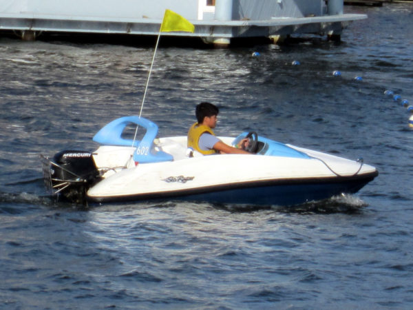 Disney is plenty of recreational watercraft for a fun day on the water!