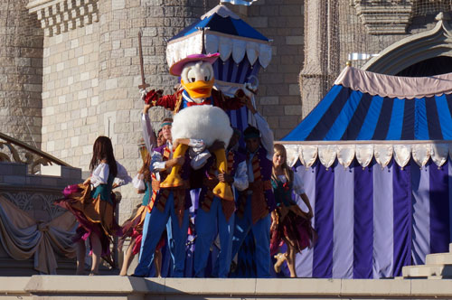 Donald makes a fun appearance in the show.