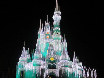 The Castle display accent colors too, like this beautiful green.