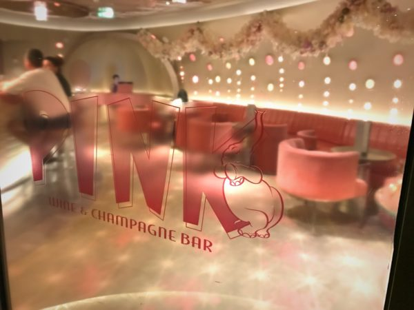 Welcome to Pink: Wine and Champagne Bar!