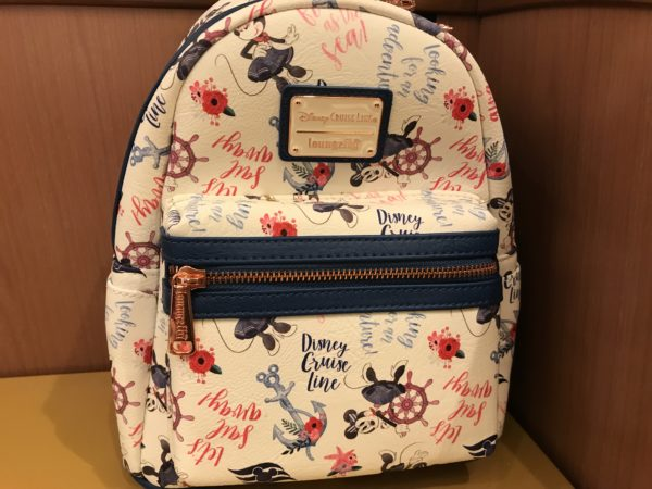 Disney Cruise Line | Loungefly teamed up to make this DCL-themed backpack! $75.00
