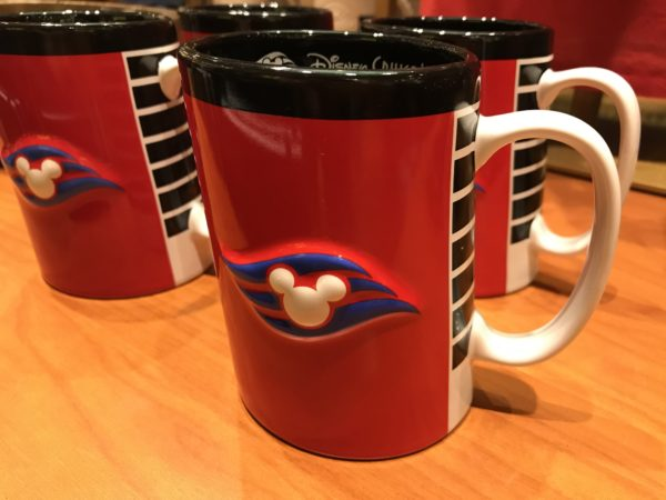 Remember your cruise every morning with this cool DCL mug! $16.99