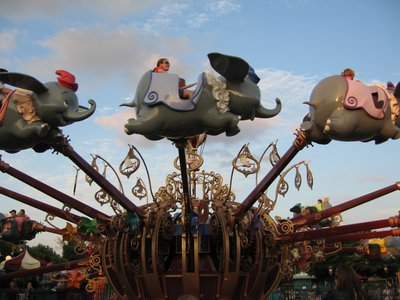 The Dumbo attraction will relocate from Fantasyland to Storybook Circus