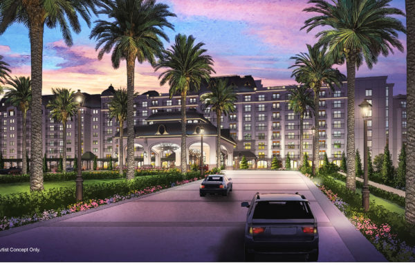 Disney's newest DVC will be called Disney Riviera Resort and will be connected to Epcot and Disney's Hollywood Studios via the new gondola transportation system. Photo credits (C) Disney Enterprises, Inc. All Rights Reserved.
