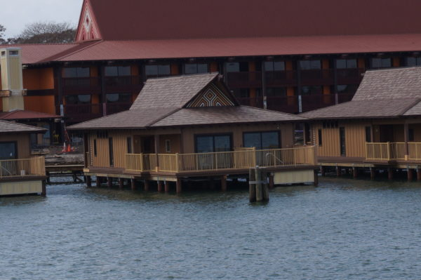 Each over-the-water Bungalow stands alone, and it's like having your own house for the week!