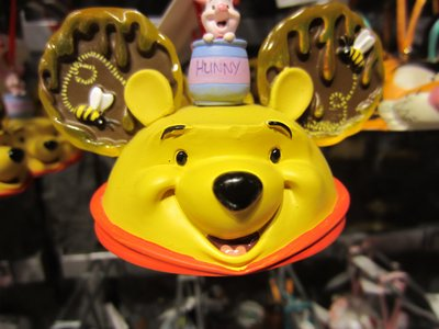 Winnie The Pooh does love his honey.
