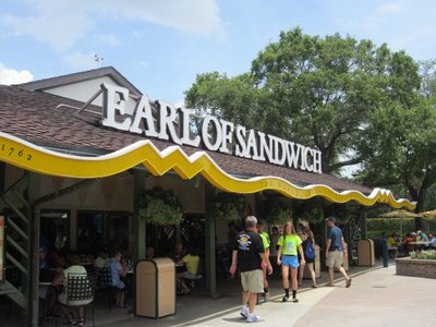 Earl Of Sandwich Entrance